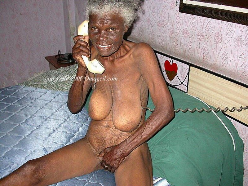 Black omageil granny topic
