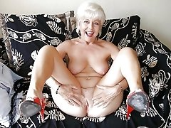 Horny grandmas perving around