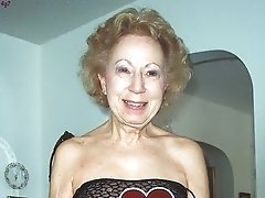 Eva a perverted granny still has a sweet skinny body for her mature age
