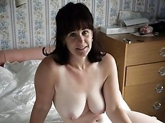 Mature sexy babe with big tits
