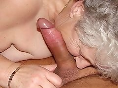 Mature older granny mix