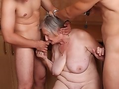 Grannies are experienced cock-suckers