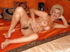 Wild Older Amateur With Hairy Pussy