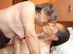 Lovely saggy mature ladies showing their sexuality