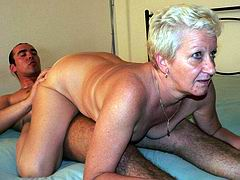 Guy fucks sweet mature lady