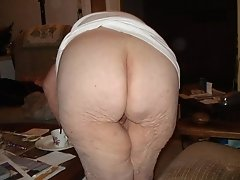 92 year old wife showing her naked ass