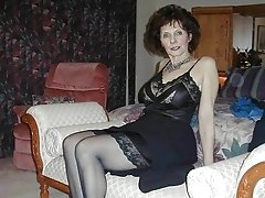 sexy german granny dressed to tease