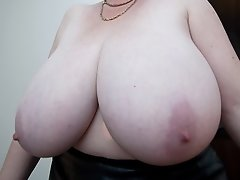 Huge titties on this mature