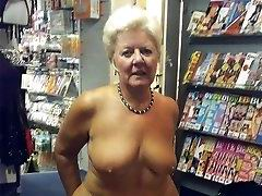 Granny Rosemarie loves to show in public