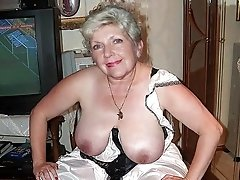 Mommy shows off her nice big tits
