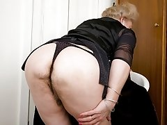 Chelsie a 78 old amorous granny never knows if this could be her last fuck