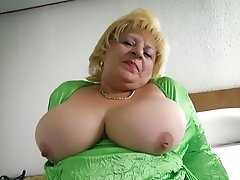 Old grannys holes and boobs