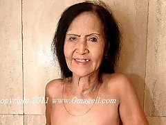 Brazilian granny with floppy tits