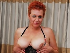Old mature granny who enjoys to have devoted boobsex